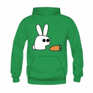 Kid's hoodie Bunny with carrot