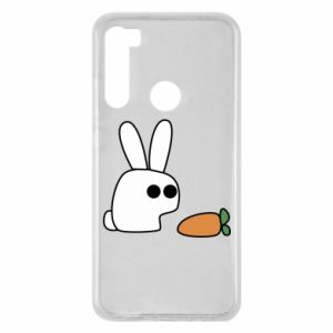 Xiaomi Redmi Note 8 Case Bunny with carrot