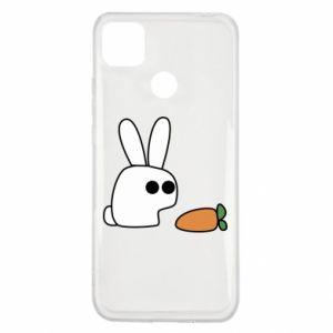 Xiaomi Redmi 9c Case Bunny with carrot