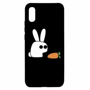 Xiaomi Redmi 9a Case Bunny with carrot