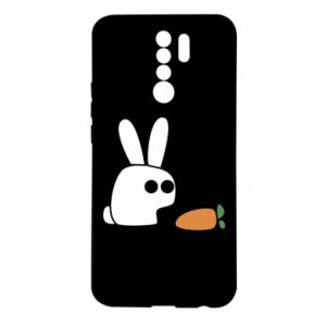 Xiaomi Redmi 9 Case Bunny with carrot