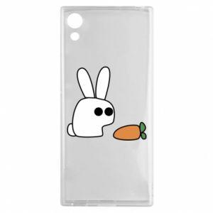 Sony Xperia XA1 Case Bunny with carrot