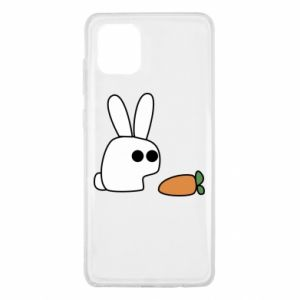 Samsung Note 10 Lite Case Bunny with carrot