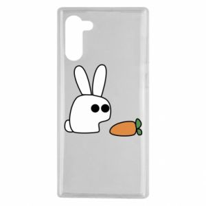 Samsung Note 10 Case Bunny with carrot