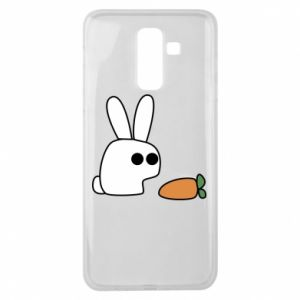 Samsung J8 2018 Case Bunny with carrot