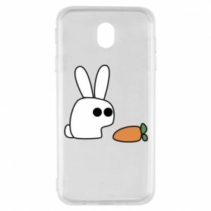 Samsung J7 2017 Case Bunny with carrot