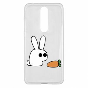 Nokia 5.1 Plus Case Bunny with carrot