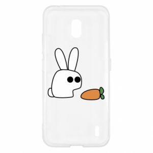 Nokia 2.2 Case Bunny with carrot