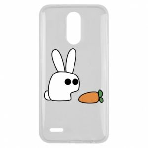 Lg K10 2017 Case Bunny with carrot
