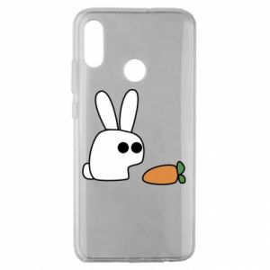Huawei Honor 10 Lite Case Bunny with carrot
