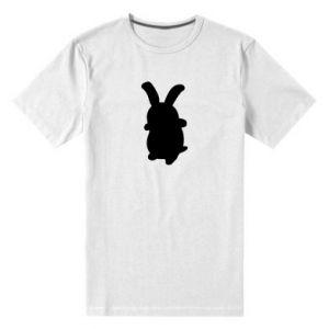 Men's premium t-shirt Smiling Bunny