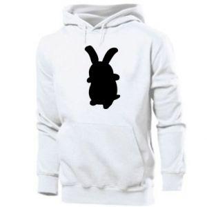 Men's hoodie Smiling Bunny