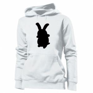 Women's hoodies Smiling Bunny