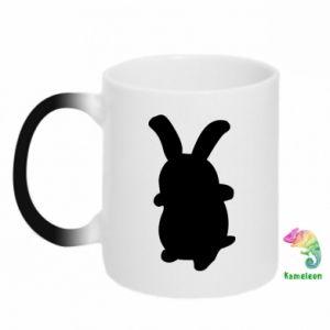 Chameleon mugs Smiling Bunny