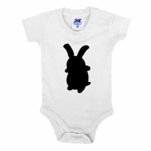 Baby bodysuit Smiling Bunny