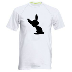 Men's sports t-shirt Shadow of a Bunny