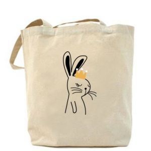 Bag Bunny in the crown