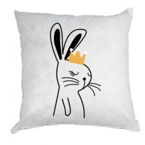 Pillow Bunny in the crown