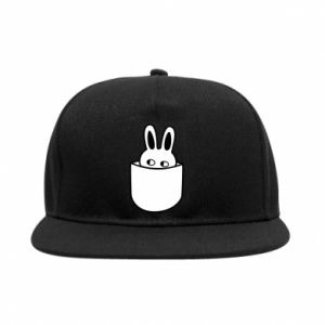SnapBack Bunny in the pocket