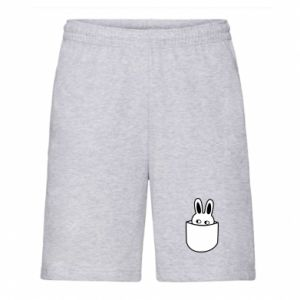 Men's shorts Bunny in the pocket