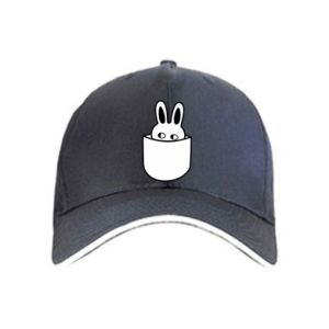 Cap Bunny in the pocket