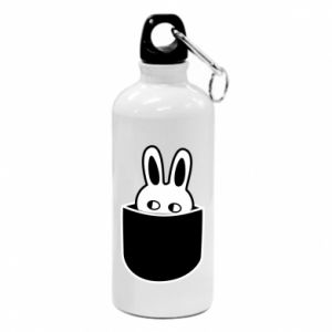 Water bottle Bunny in the pocket
