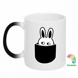 Magic mugs Bunny in the pocket