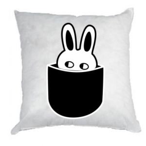 Pillow Bunny in the pocket