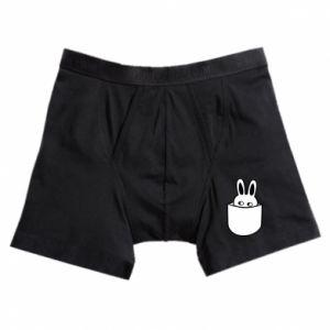 Boxer trunks Bunny in the pocket