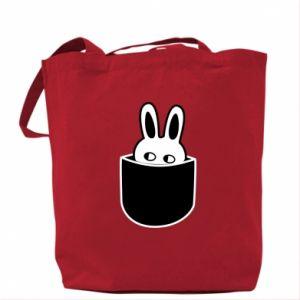Bag Bunny in the pocket
