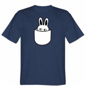 Koszulka męska Кróliczek w kieszeni