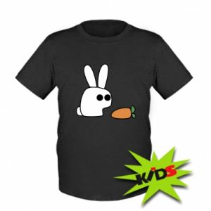 Kids T-shirt Bunny with carrot