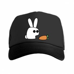Trucker hat Bunny with carrot