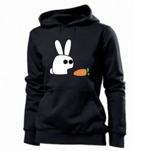 Women's hoodies Bunny with carrot