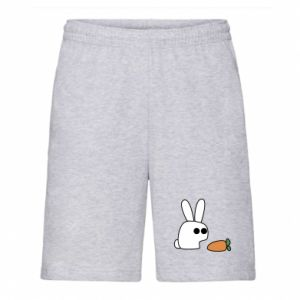 Men's shorts Bunny with carrot