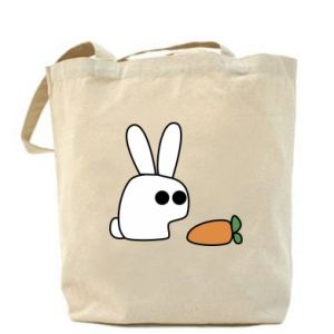 Bag Bunny with carrot