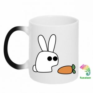 Magic mugs Bunny with carrot