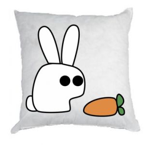 Pillow Bunny with carrot