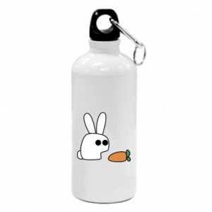 Water bottle Bunny with carrot