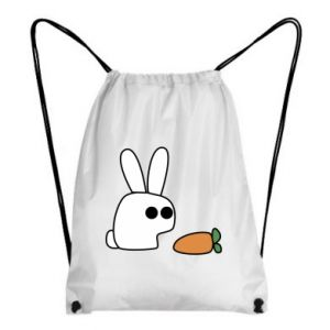 Backpack-bag Bunny with carrot