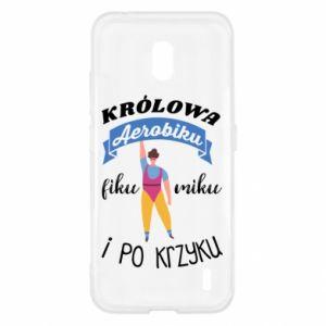 Etui na Nokia 2.2 Królowa aerobiku