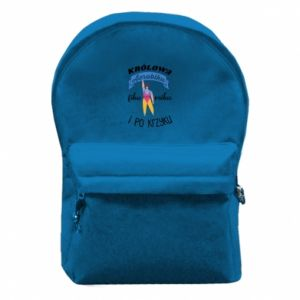 Backpack with front pocket The Queen of aerobics