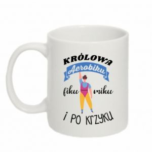 Mug 330ml The Queen of aerobics