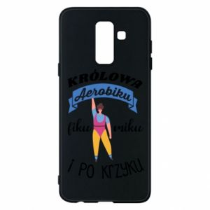 Phone case for Samsung A6+ 2018 The Queen of aerobics