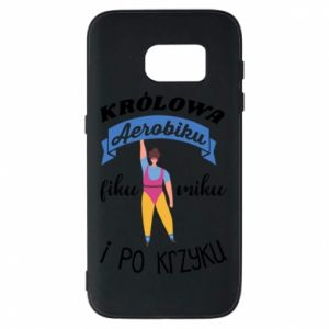 Phone case for Samsung S7 The Queen of aerobics