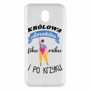 Phone case for Samsung J5 2017 The Queen of aerobics
