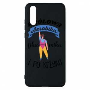 Phone case for Huawei P20 The Queen of aerobics