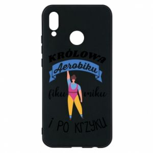 Phone case for Huawei P20 Lite The Queen of aerobics