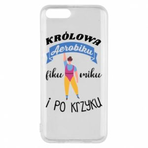 Phone case for Xiaomi Mi6 The Queen of aerobics