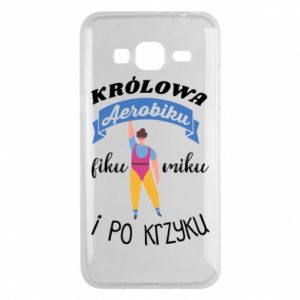 Phone case for Samsung J3 2016 The Queen of aerobics